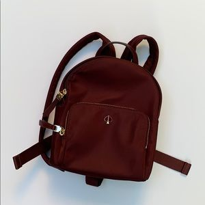 Taylor small backpack cherrywood